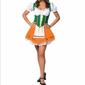 Bavarian Beer Garden Girl Costume Size M